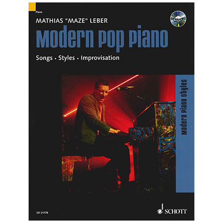 Leber, M.: Modern Pop Piano (+CD)