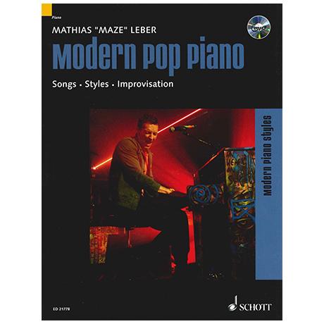 Leber, M.: Modern Pop Piano (+CD)
