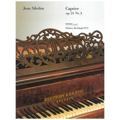 Sibelius, J.: Caprice Op. 24/3