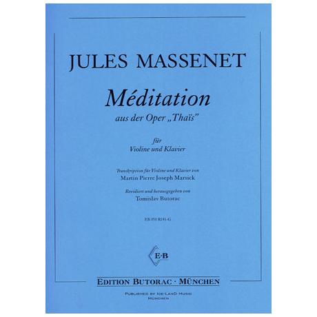 Massenet, J.: Méditation aus »Thaïs«