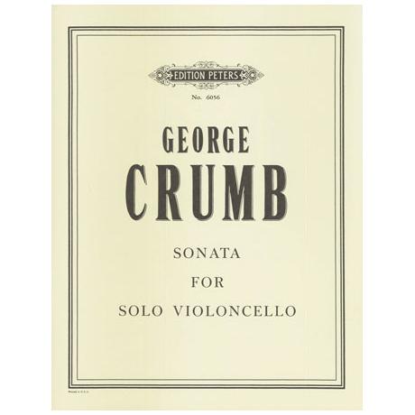 Crumb, G.: Violoncellosonata