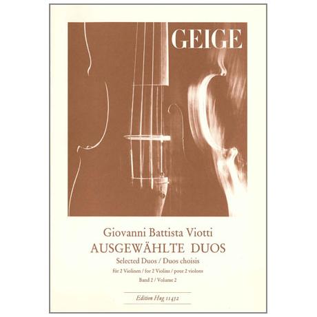 Viotti, G.B.: Ausgewählte Duos Band 2