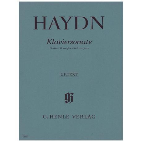 Haydn, J.: Klaviersonate G-Dur Hob. XVI: 40