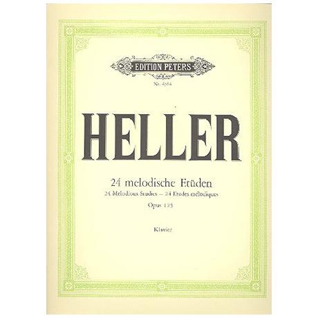 Heller, S.: 24 Melodische Etüden Op. 125