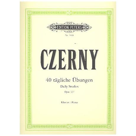 Czerny, C.: 40 tägliche Übungen Op. 337