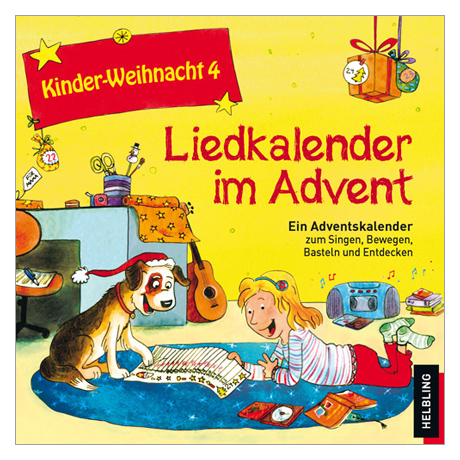 Maierhofer, L.: Kinder-Weihnacht 4: Liedkalender im Advent – CD
