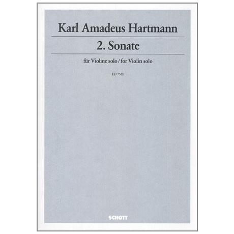 Hartmann, K.A.: Sonate Nr.2