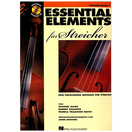 Allen, M.: Essential elements für Streicher Band 1 (+CD)
