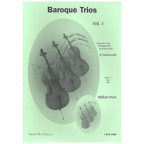 Poot, W.: Baroque Trios Vol. 1