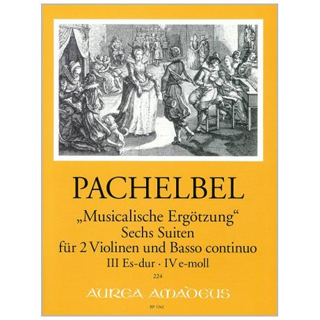 Pachelbel, J.: »Musicalische Ergötzung« 6 Suiten Heft 2
