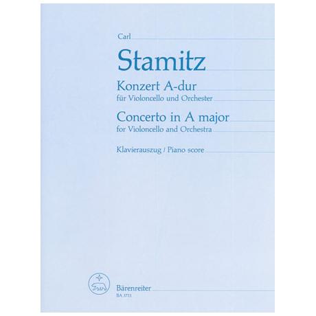 Stamitz, C. P.: Violoncellokonzert Nr. 2 A-Dur