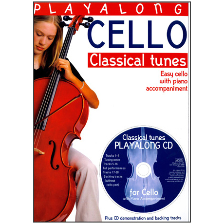 Playalong Cello: Classical Tunes (+CD)