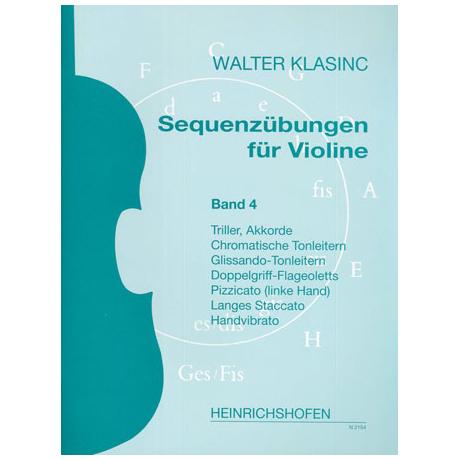 Klasinc, W.: Sequenzübungen Band 4