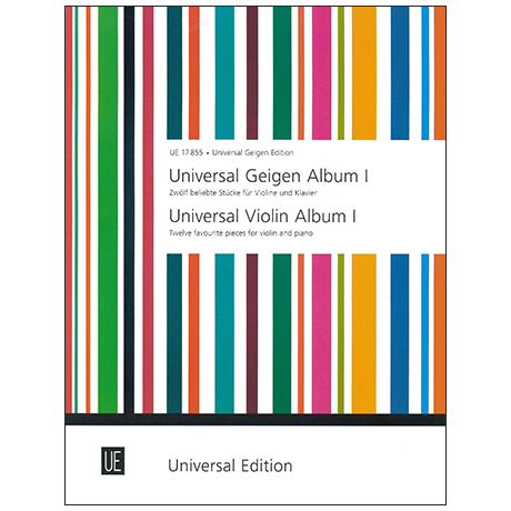 Universal Geigen Album 1 – 12 beliebte Stücke