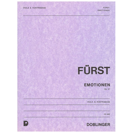 Fürst, P. W.: Emotionen Op. 57a