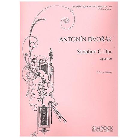 Dvořák, A.: Sonatine Op. 100 G-Dur