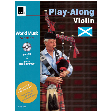 World Music Play Along Violin: Scottland (+CD)