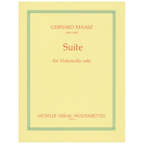 Maasz, G.: Cello-Suite d-Moll