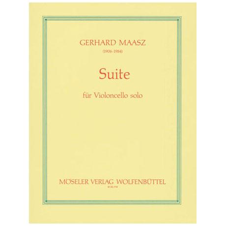 Maasz, G.: Cello-Suite d-Moll