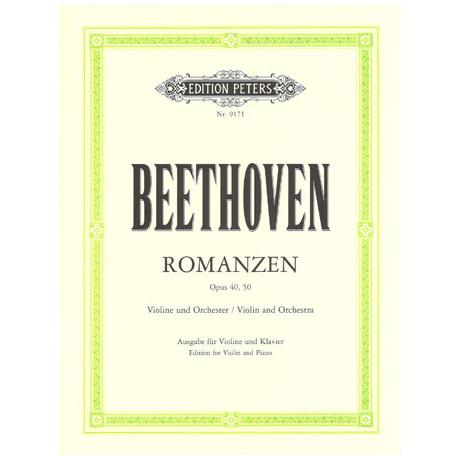 Beethoven, L.v.: Romanzen Op.40 und Op.50