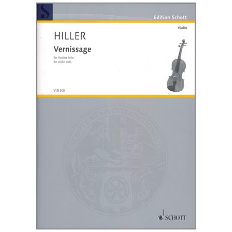Hiller, W.: Vernissage