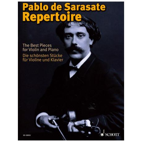 Sarasate, P. d.: Repertoire — Die schönsten Stücke