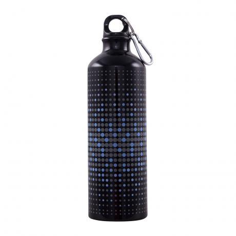Trinkflasche DOTS schwarz