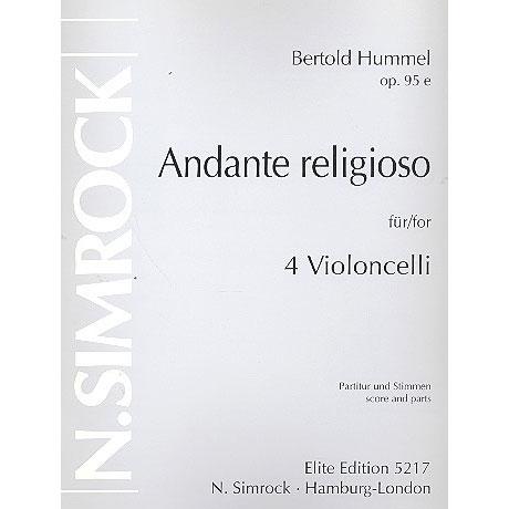 Hummel, B.: Andante religioso Op. 95e
