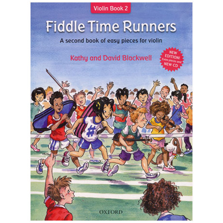 Blackwell, K. & D.: Fiddle Time Runners – Band 2 (+CD)
