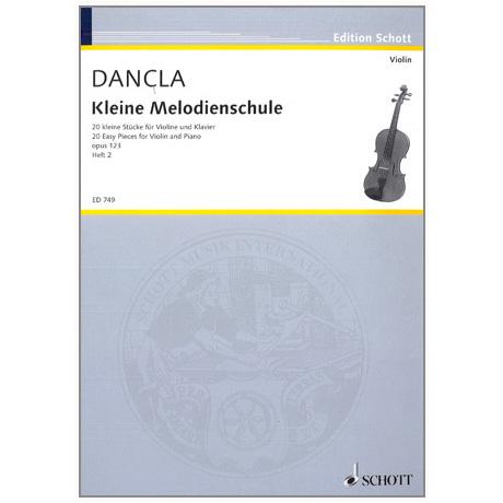 Dancla, J. B. C.: Kleine Melodienschule Op. 123 Band 2