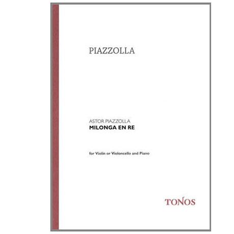 Piazzolla, A.: Preludio Nr.1