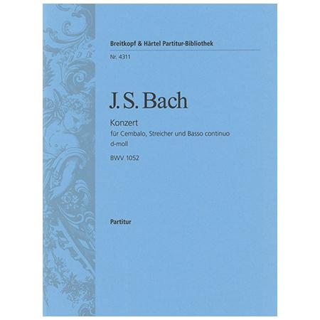 Bach, J. S.: Cembalokonzert E-Dur BWV 1053
