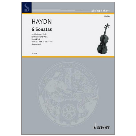 Haydn, J.: 6 Violasonaten Hob. VI: 4-6