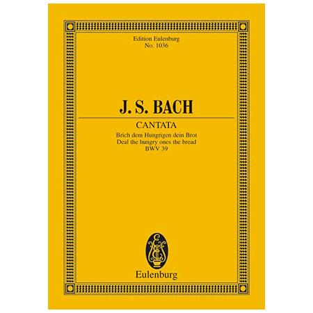 Bach, J. S.: Kantate BWV 39 »Dominica 1 post Trinitatis«