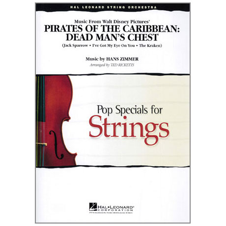 Pop Specials for Strings - Medley from Pirates of the Caribbean Band 2
