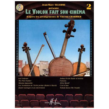 Le violon fait son cinéma Vol. 2 (+CD)