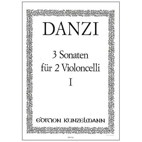 Danzi, F.: 3 Sonaten Band 1 Nr.1 A-Dur