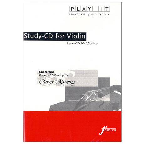 Rieding, O.: Concertino Op. 24 G-Dur Play-Along-CD (nur CD)