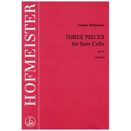 Waterhouse, G.: Three pieces Op. 28