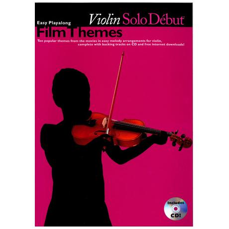Solo Debut: Film Themes – Easy Playalong Violin (+CD)