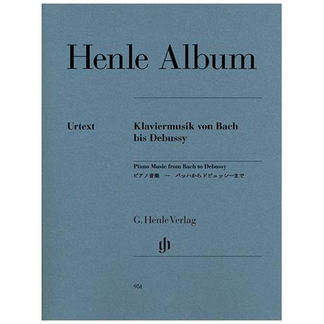 Henle Album – Klaviermusik von Bach bis Debussy