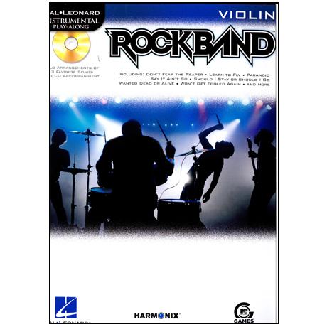 Hal Leonard Playalong: Rockband (+CD)