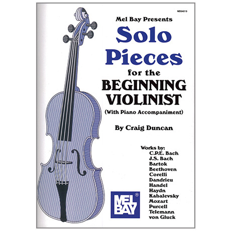 Duncan, C.: Solo Pieces for the beginning Violinist