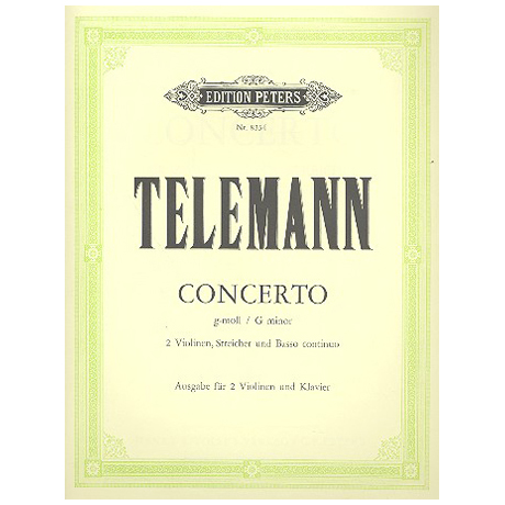 Telemann: Concerto g-moll