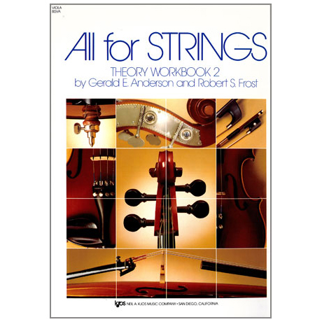 All for Strings – Therory Workbook 2