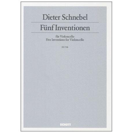 Schnebel, D.: Fünf Inventionen