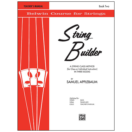 Applebaum, S.: String Builder Book Two – Lehrerhandbuch