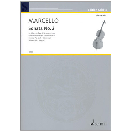 Marcello, Benedetto: Sonata No. 2 e-moll