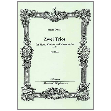 Danzi, F.: 2 Trios Op. 71