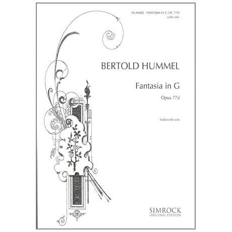 Hummel, B.: Fantasia in G-Dur Op.77d